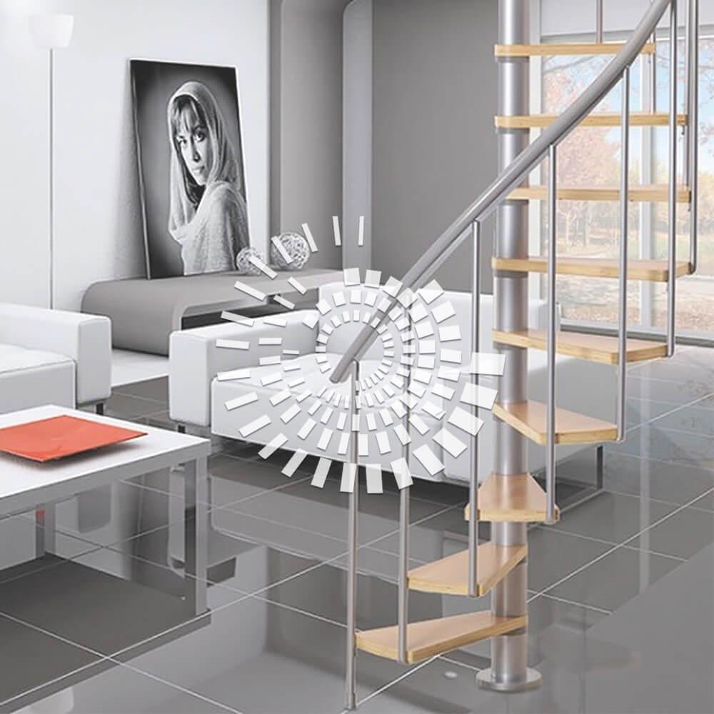 Деревянная лестница ДЛ-2