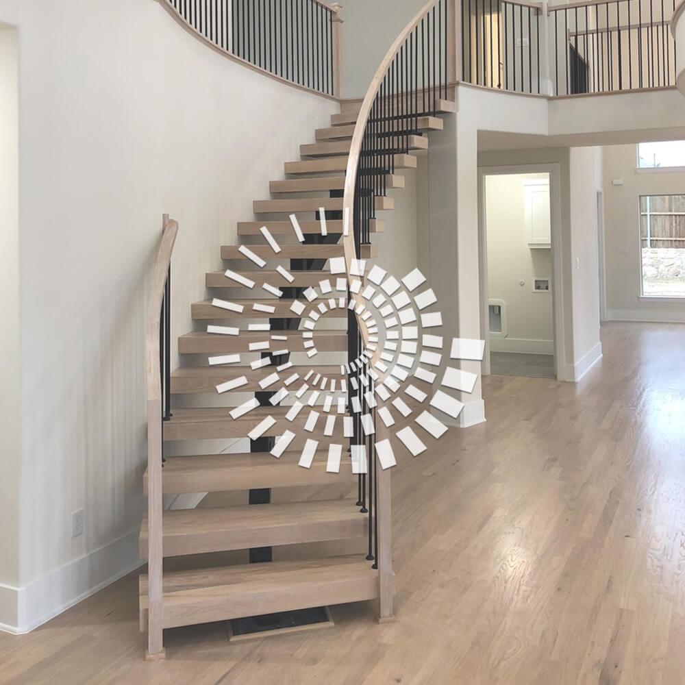 Деревянная лестница ДЛ-3
