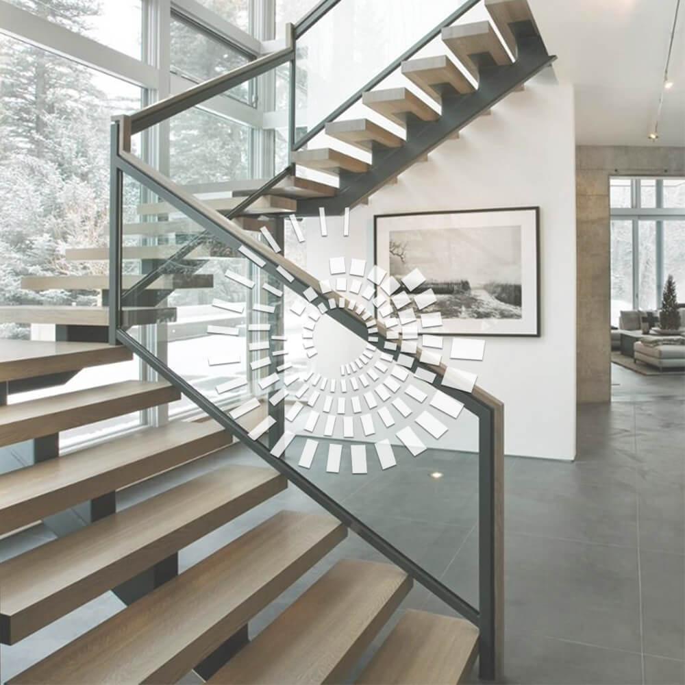 Деревянная лестница ДЛ-5