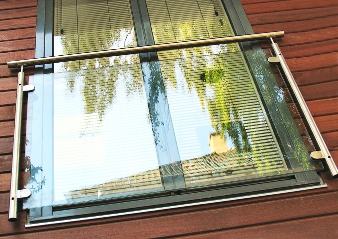 Пример французского балкона