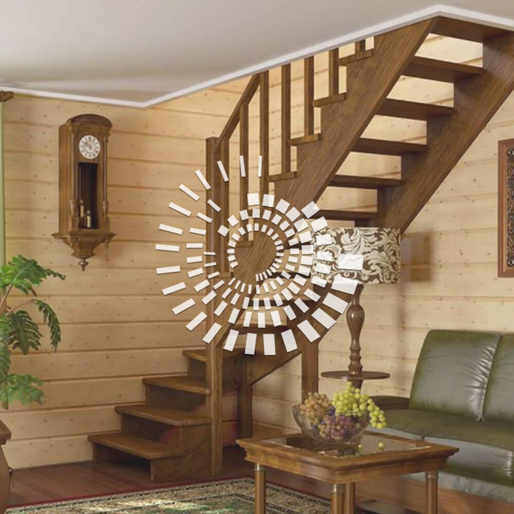 Лестница для загородного дома ЛЗД-3