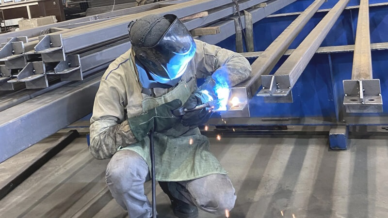Пример изготовления металлоконструкций Изготовление металлоконструкций