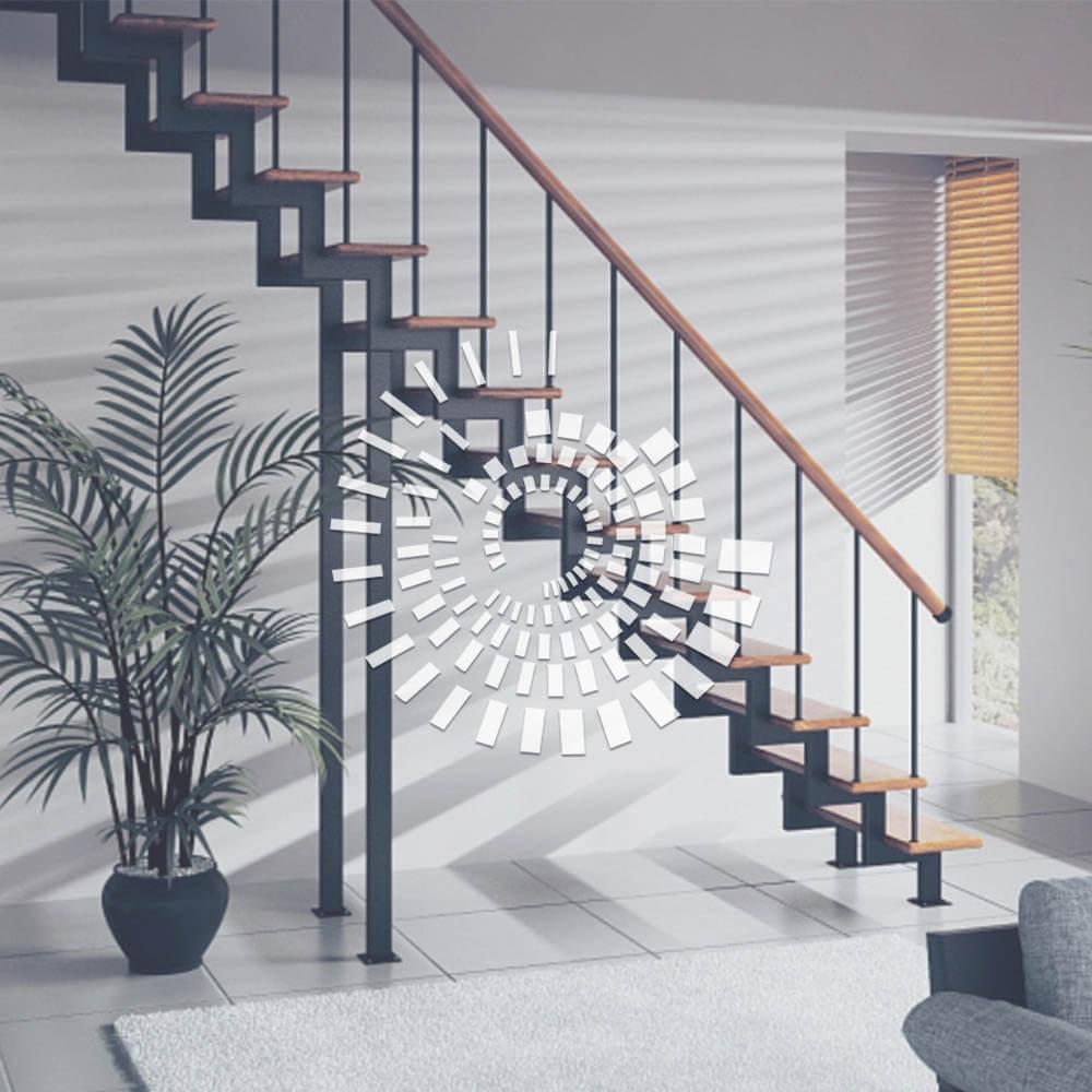 Косоурная лестница ЛК-3