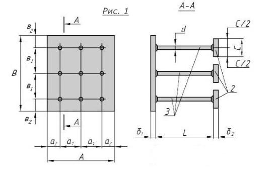 Закладная деталь МН-159-162 компании InoxMetal