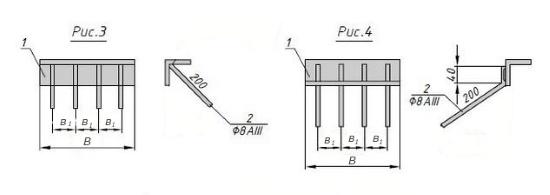 Схема закладной детали МН 553 компании InoxMetal