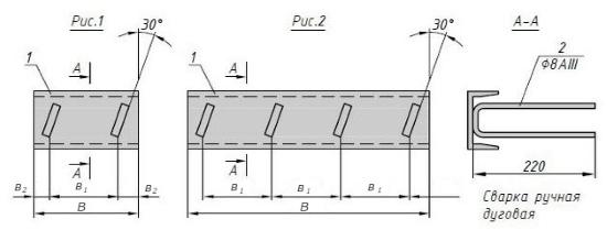 Схема закладной детали МН 566 компании InoxMetal