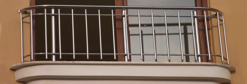 Ограждение на окна из нержавеющей стали