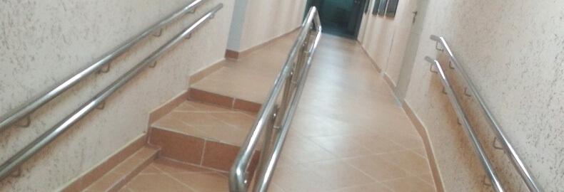 Поручни для инвалидов. Поручни для лестниц