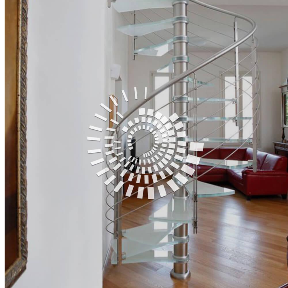 Стеклянная лестница СЛ-1