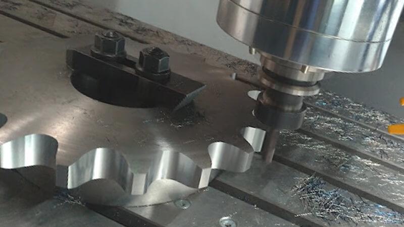 Пример токарно-фрезерной обработки Токарные / Фрезерные работы