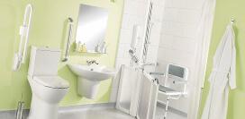 Как правильно выбирать поручни для людей с инвалидностью в ванную и туалет?